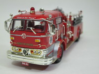 1960 Mack C Pumper,Rescue Hose Co.1 Sleepy Hollow NY  CORGI  US53206  1/50 2