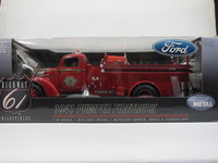 Ford 1941 PUMPER FIRETRUCK  HIGHWAY 61  SKU#50322  804902503221 1