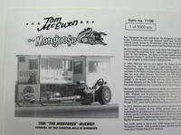 TOM THE MONGOOSE McEWEN  Thirteen Twenty,Inc.  1108  1/24 2