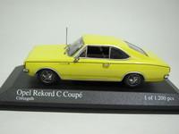 Opel Record Coupe 1966  MINICHAMPS  430046125  4012138050471  1/43 2