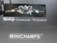 Norton Commando 750 fastback  MINICHAMPS  122132002  4012138068292  1/12 5