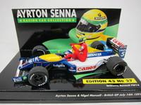 Ayrton Senna & Nigel Mansell  540914305  4012138053311  1/43 1