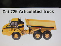 Cat 725 Articulated Truck  norscot  55073  649869550730  1/50 2