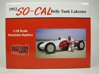 1952 SO-CAL Belly Tank Lakester  Precision Miniatures  PRM03  715236206613  1/18 1
