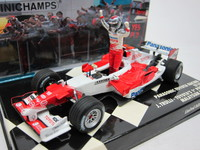 Panasonic Toyota Racing TF105  MINICHAMPS  400050116  4012138064638  1/43 1