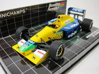 Benetton Ford B191 M.Schumacher 1991  MINICHAMPS  400910119  4012138052796  1/43 1