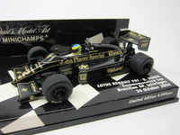 Bruno Senna Lotas Renault 98T  MINICHAMPS  400045412  4012138073258  1/43 1