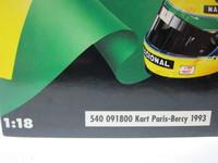 Kart A.Senna  MINICHAMPS  540091800  4012138023284  1/18 5
