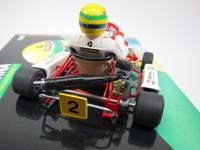 Kart A.Senna  MINICHAMPS  540091800  4012138023284  1/18 4