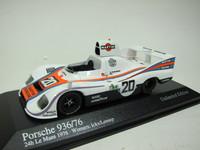 Porsche 936 Winner 24h Le Mans 1976  MINICHAMPS  400766620  4012138082274  1/43 2