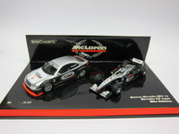McLaren Mercedes MP4-16  Mercedes CLK Coupe Test Car  MINICHAMPS  402014303  4012138040489 1/43 1