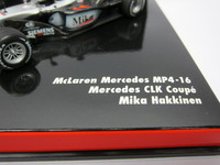 McLaren Mercedes MP4-16  Mercedes CLK Coupe Test Car  MINICHAMPS  402014303  4012138040489 1/43 3