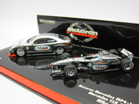 McLaren Mercedes MP4-16  Mercedes CLK Coupe Test Car  MINICHAMPS  402014303  4012138040489 1/43 2