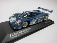 Sauber Mercedes C9 Supercup 1987  MINICHAMPS  432871061  4012138062238  1/43 1