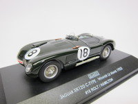 JAGUAR XK120 C-TYPE #18  quartzo  QLM033  5601673015886  1/43 1