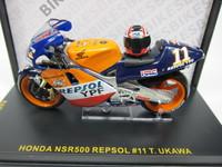 HONDA NSR500 REPSOL #11 T.UKAWA ixo 1/24 3