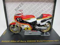 SUZUKI 500cc #7 Barry SHEENE World Shampion 1977 ixo  1/24 3