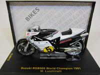 SUZUKI RGB500 World Champion 1981 M.Lucchinelli  ixo  1/24 3
