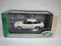 ISUZU 117 Coupe  EBBRO  400  4526175434007  1/43 3