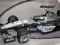 Mercedes McLaren #1 Mika  MATTEL  260301  0400054200713  1/24 2
