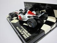 B・A・R Honda 007 Malaysian GP 2005  MINICHAMPS  400050104  4012138064669  1/43 3