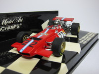 De Tomaso Ford GP South Africa 1970  MINICHAMPS  400700022  4012138047907  1/43 2