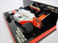 McLaren TAG MP4/2C K.Rosberg  MINICHAMPS  530864302  4012138039865  1/43 3