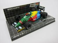 Benetton Ford B188  A.Nannini 1988  MINICHAMPS  400880019  4012138528024  1/43 1