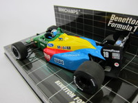 Benetton Ford B188  A.Nannini 1988  MINICHAMPS  400880019  4012138528024  1/43 3