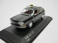 VW 411 LE 1969 TAXI  MINICHAMPS  400051195  4012138048195  1/43 1