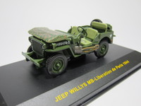 JEEP WILLYS MB-Liberation de Paris 1944  ixo  CLC158  4895102309115  1/43 1