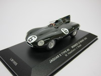 Jaguar D type #6 Winner Le Mans 1955  ixo  LM1955  4895102303304  1/43 1