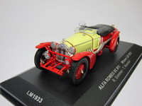 Alfa Romeo 8C #11 Winner LM 1933  ixo  LM1933  4895102311743  1/43 1