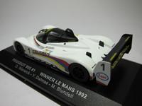 Peugeot 905 #1 Winner Le Mans 1992  ixo  LM1992  4968228299926  1/43 2