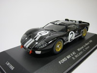 Ford MKII #2 Winner Le Mans 1966  ixo  LM1966  4895102309764  1/43 1
