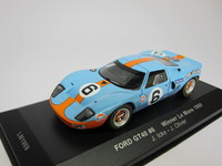 Ford GT40 #6 Winner Le Mans 1969  ixo  LM1969  4895102304981  1/43 1