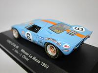 Ford GT40 #6 Winner Le Mans 1969  ixo  LM1969  4895102304981  1/43 2