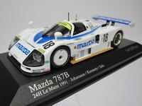 Mazda 787B 24h Le Mans 1991  MINICHAMPS   400911618  4012138050976  1/43 1