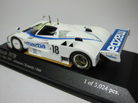 Mazda 787B 24h Le Mans 1991  MINICHAMPS   400911618  4012138050976  1/43 2