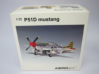 P51D mustang  AEROart  37202  674110372021  1/72 3