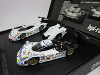 Porsche 911 GT1 1998  LM1-2 Finish  #25 & #26  hpi-racing  8051  4944258080512  1/43 5