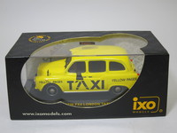 AUSTIN FX4 LONDON TAXI YELLOW PAGES  ixo  CLC026  4895102302543  1/43 3