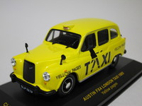 AUSTIN FX4 LONDON TAXI YELLOW PAGES  ixo  CLC026  4895102302543  1/43 1