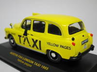 AUSTIN FX4 LONDON TAXI YELLOW PAGES  ixo  CLC026  4895102302543  1/43 2