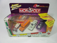 Licensed by Ford,Hasbro MONOPOLY ゲーム駒4台付4 car Box Set MONOPOLY  JOHNNY LIGHTNING  245-04  090733245045  1/64 1