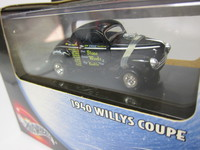 1940 WILLYS COUPE  MATTEL  54552  074299545528 3