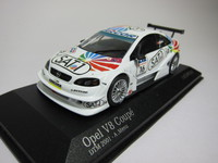 Opel V8 Coupe DTM 2001 Opel Euroteam  MINICHAMPS  400014116  4012138039650  1/43 1