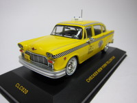 CHECKER NEW YORK YELLOW CAB  ixo  CLC020  4895102301560  1/43 1