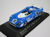 Matra MS 670 B Le Mans 1973 #10  MINICHAMPS  430731110  4012138033955  1/43 1