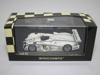 Audi R8 Le Mans 24hrs. 2002  MINICHAMPS  400021205  4012138045798  1/43 3